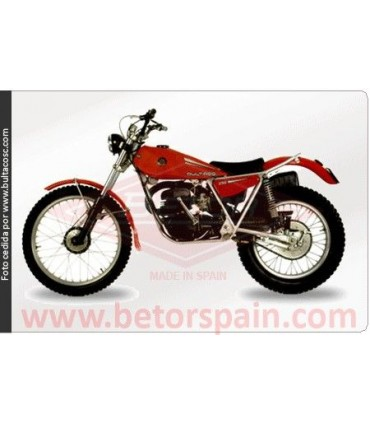 Bultaco Sherpa T 250Model 198-198A-B