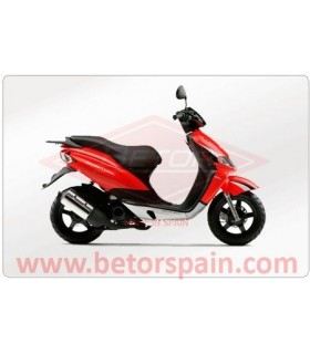 Derbi Atlantis Motor Piaggio Gas Yellow