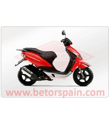 Derbi Atlantis Motor Piaggio Gas Red
