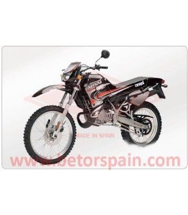 Derbi Senda R2000 Super Reinforced Yellow