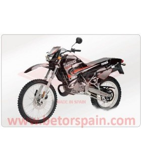 Derbi Senda R 1999 Reinforced Yellow