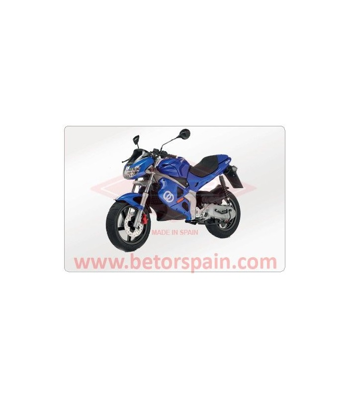 GILERA DNA BLANCO GAS