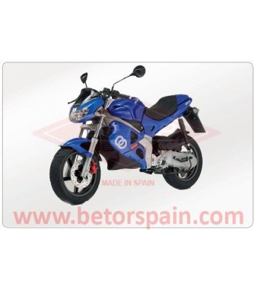 Gilera DNA Gas Red