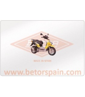 Honda X8 R Gas Yellow