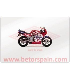 Honda NSR 50 Monoshock Red
