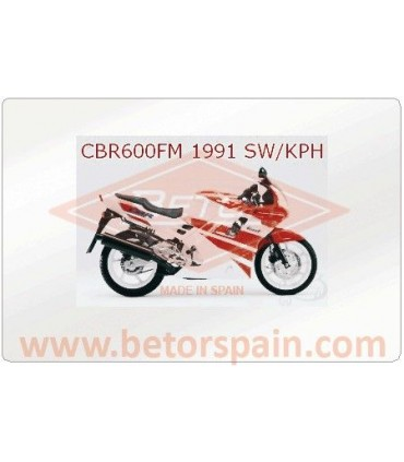 Honda CBR 600 FM - FT Super Reinforced