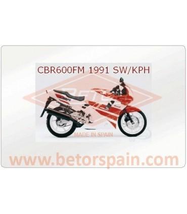 Honda CBR 600 FM - FT Super Verstärkte