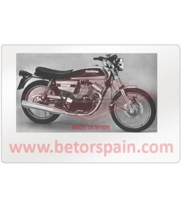 Moto Morini 125 H 1975