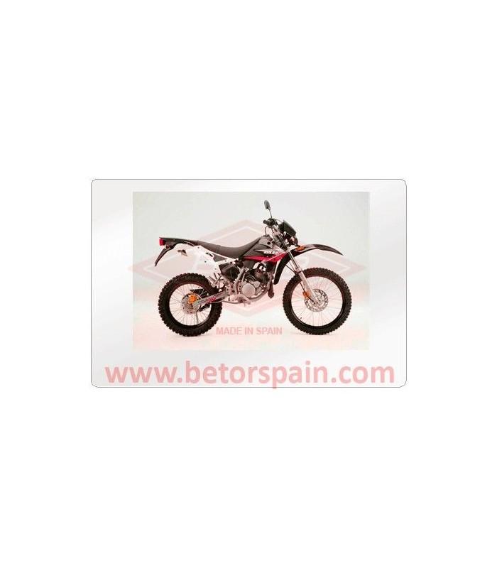 MOTORHISPANIA FURIA , XP6 AMARILLO