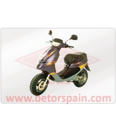 Peugeot Buxy / Speedake / Speedfight / Trekker / SV 50 / SV 75 Gas Red