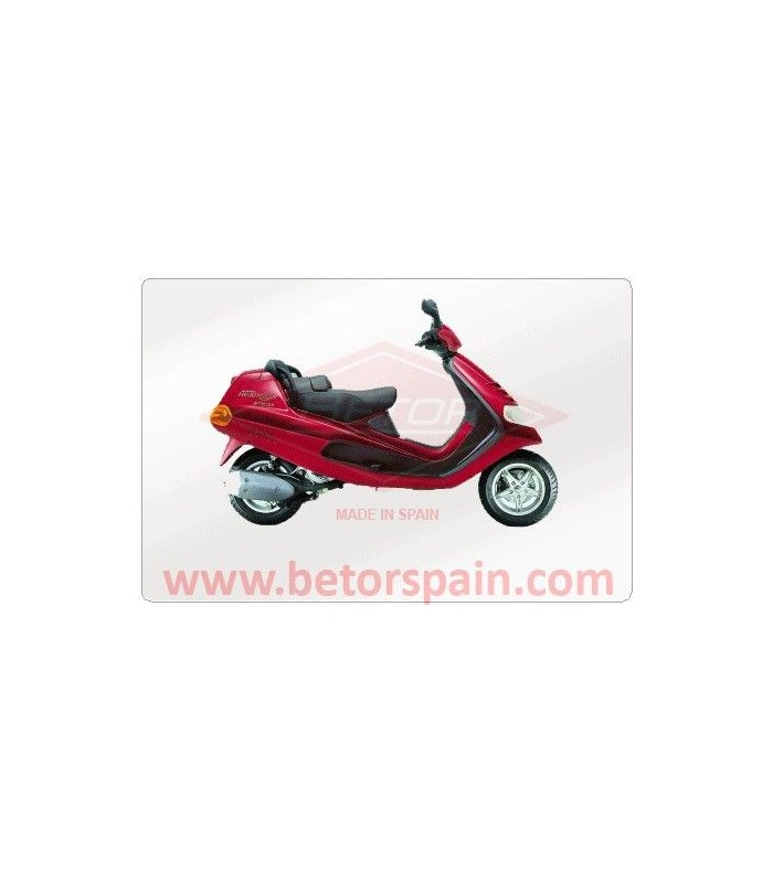 PIAGGIO HEXAGON 125 GAS ROJO