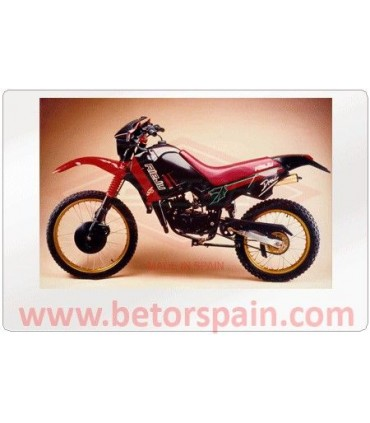 Rieju Drac / RV / RR Super Motard Red