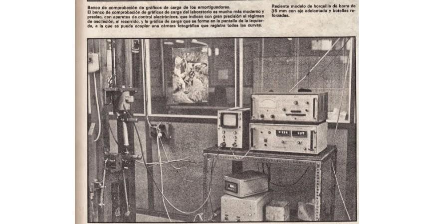 History of Betor SL Shock Absorbers