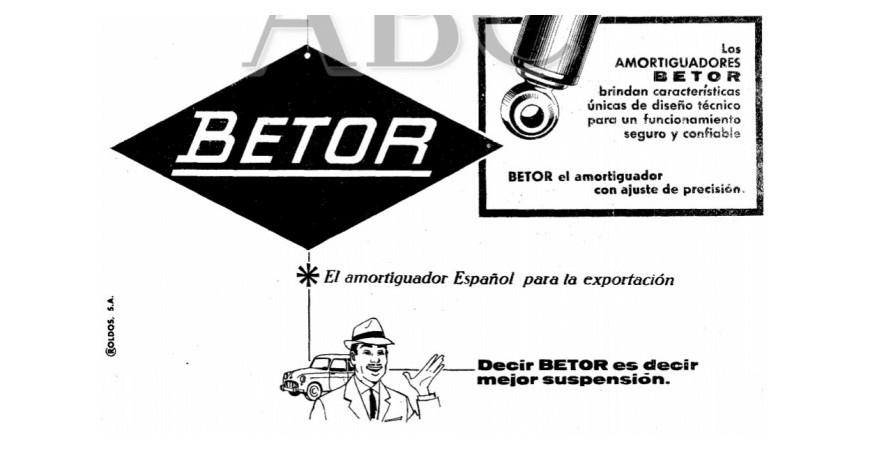 Historia de Amortiguadores Betor SL Pt. 2